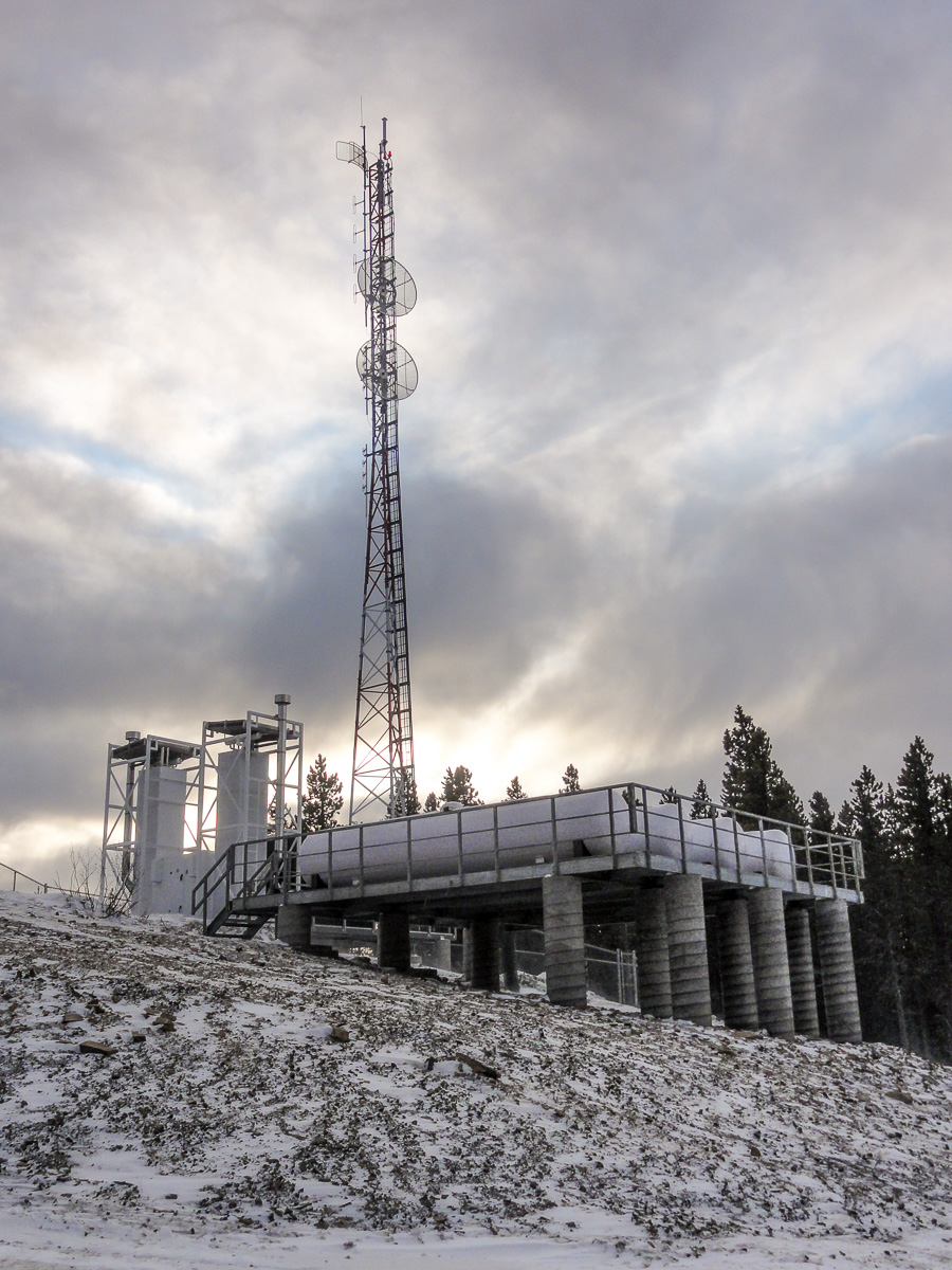 Ledcor Communications Tower - Chetwynd - Datoff Construction