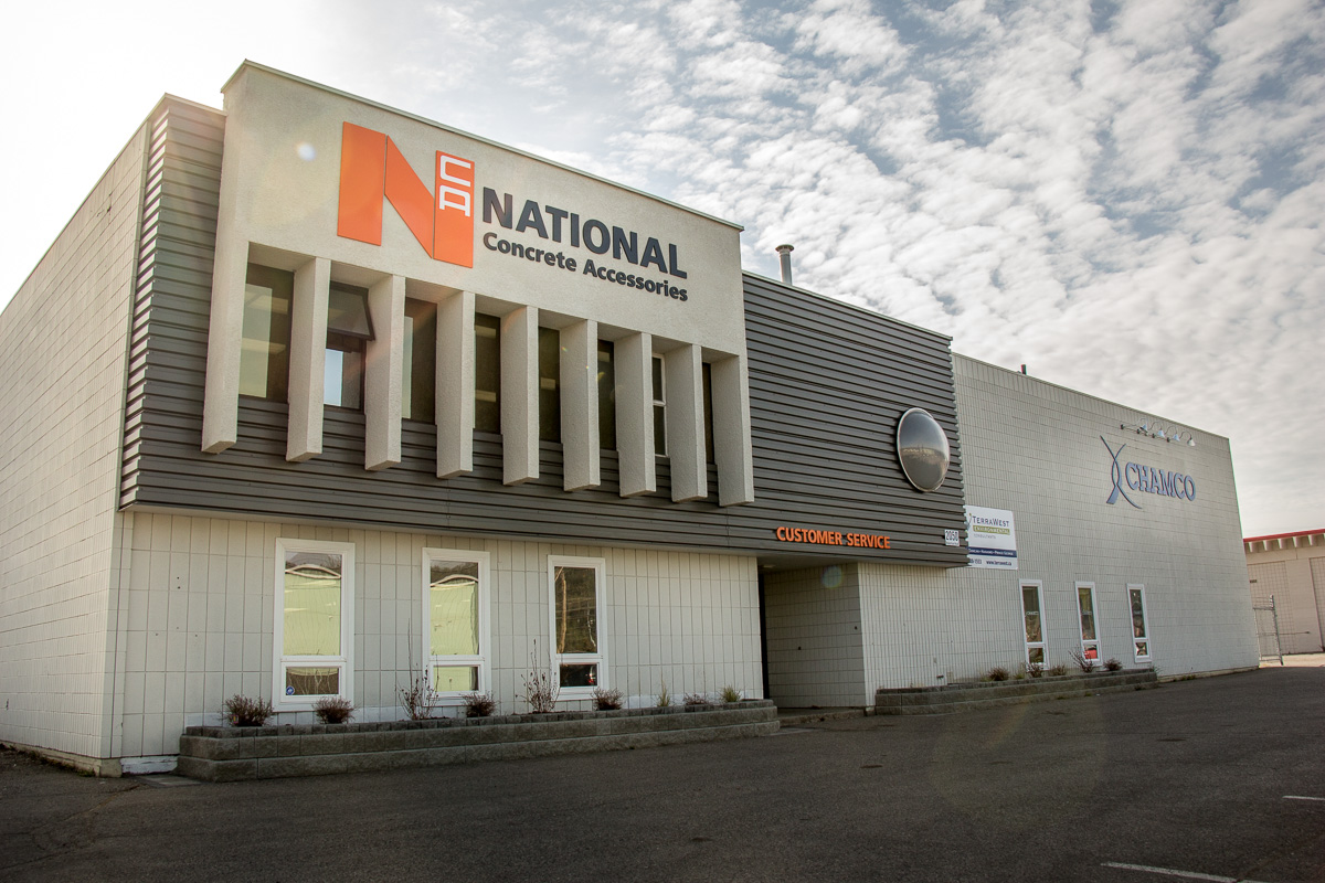 National Concrete Chamco Building - Commercial Construction - Datoff