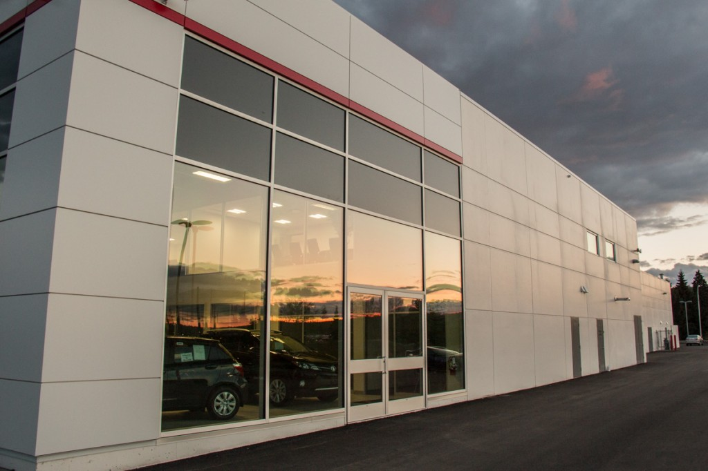 Commercial Construction - Toyota Prince George - Datoff